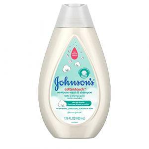 Johnson's Cottontouch - Newborn wash & shampoo 400 ml