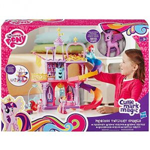 Hasbro My Little Pony Rainbow Château de Twilight