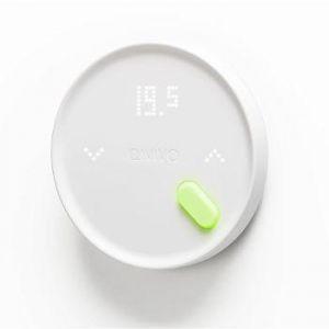 Qivivo Nouveau Thermostat connecté- Gaz, fioul, bois, PAC