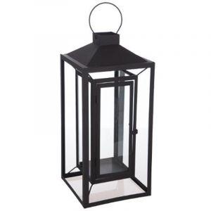 "Lanterne Design Métal Mat ""Kupa"" 52cm Noir Prix"