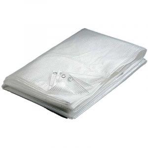 Werkapro Bâche transparente 160 g/m2 3 x 2,0 m