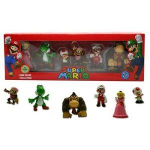Abysse Corp 6 figurines Super Mario Série 3 de collection