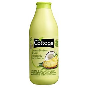 Cottage Douche & bain lait énergisant ananas & crème de coco
