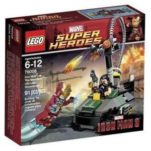 Lego 76008 - Super Heroes : Iron Man vs The Mandarin - Ultimate Showdown