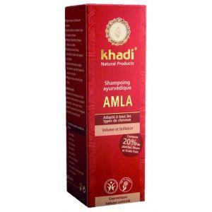 Khadi Shampoing ayurvédique Amla (cheveux ternes et sans vie)