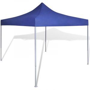 VidaXL Tente de réception pliable bleue