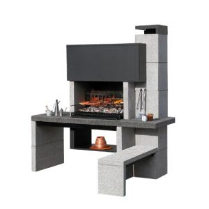 barbecue en pierre comparer 157 offres. Black Bedroom Furniture Sets. Home Design Ideas