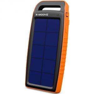 X-moove Solargo Pocket - Chargeur Solaire 10000 mAh USB
