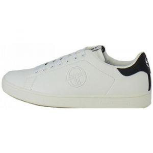 Sergio Tacchini Gran Torino, Chaussures de Cross Homme, Blanc (White/Navy 01), 44 EU