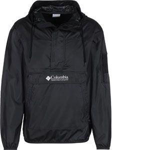 Columbia Homme Veste Coupe-Vent Imperméable, Challenger, Polyester, Noir, Taille: L, KM2005