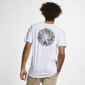 Image de Nike Tee-shirt Hurley Premium Wormhole pour Homme - Blanc - Taille M - Male