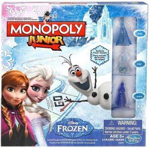 Hasbro Monopoly Junior La Reine Des Neiges