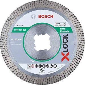 Bosch Professional 2608615135 Best Disque à tronçonner diamant en céramique rigide Ø 125 mm Ø 22,23 mm