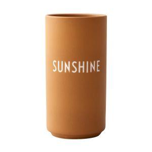 Design Letters Vase préféré, Sunshine