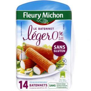 Fleury Michon 14 bâtonnets surimi - 25% sel, soit 230 g