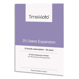 Safescan Pack 25 utilisateurs supplémentaires TM-UEP-25 pour logiciel TM Cloud