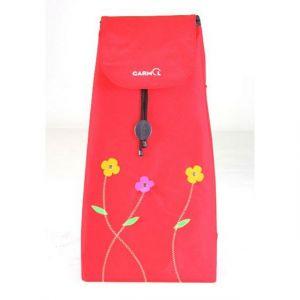 Garmol Sac pour poussette de marché 51l rouge bbp230fb c 654