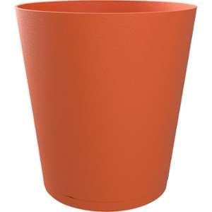 LG Pot Tokyo modulable avec soucoupe D20 cm x H19 cm orange
