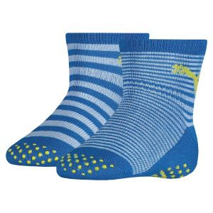 Puma Chaussettes -underwear Baby Sock Abs 2 Pack - Blue Green Combo - Taille EU 23-26