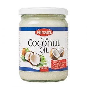 Niharti Huile de noix de coco pure 500 ml
