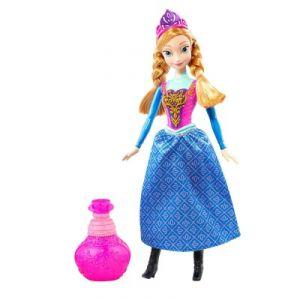 Mattel Poupée Anna Couleur Royale La Reine Des Neiges