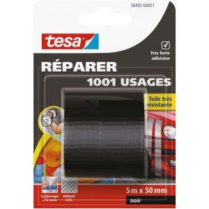 Tesa Adhésif 1001 usages - 5 m x 50 mm - Ruban couleur
