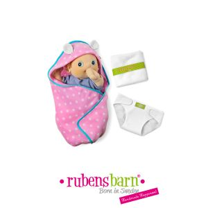 Rubens Barn Set à langer pour poupée baby