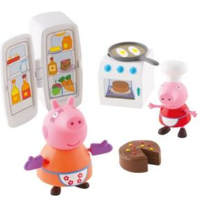 Giochi Preziosi Peppa Pig La cuisine de Peppa avec 2 personnages