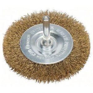 Bosch Brosse circulaire à fils laitonnés, 75 mm, 0,2 mm, 4500 tr/ min, 10 mm 2608622009