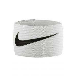 Nike Futbol Bracelet 2.0 Brassard de Capitaine Taille Unique Blanc/Noir