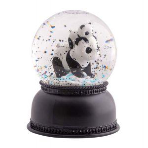 Image de A Little Lovely Company Boule à neige lumineuse panda