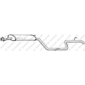 Bosal Silencieux arrière 291-125