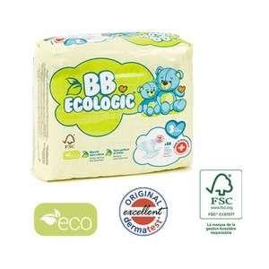 BB Ecologic 30 couches jetables écologiques Midi - T3, 4-9kg