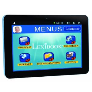 "Lexibook Serenity Ultra (MFC410FR) - Tablette tactile 7.9"" 8 Go sur Android 4.1"