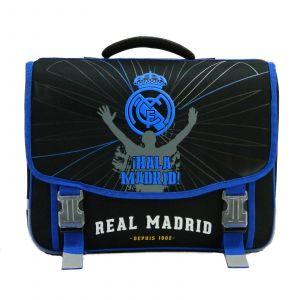 La Plume Dorée Cartable 41cm - 2 compartiments - Real Madrid