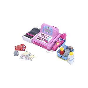 Just Like Home Caisse enregistreuse électronique rose
