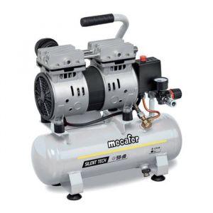 Image de Mecafer Compresseur silencieux - 425513 - 6L - 0,5HP - Gris