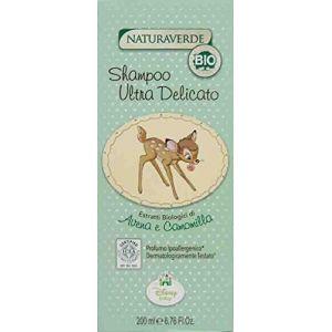 Naturaverde Shampooing Ultra Délicat - Avoine et Camomille - Bio - 200 ml