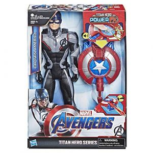 Hasbro Figurine Power Pack 30 cm - Avengers Endgame - Captain America