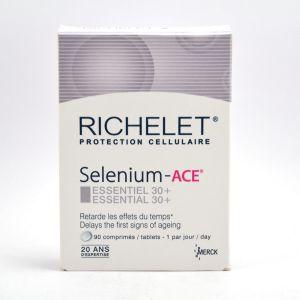 Richelet Selenium-ace essentiel 30+ - 90 + 30 comprimés