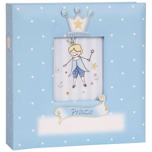 Innova Album enfant bleu 200 photos 10x15cm Prince