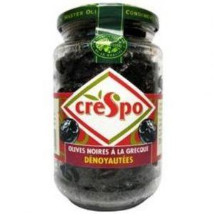 Crespo Olives noires à la grècque dénoyautées