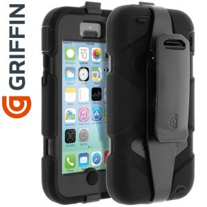 Griffin GB38141-2 - Coque de protection Survivor pour iPhone 5C