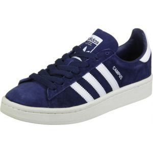 Adidas Campus, Baskets Basses Mixte Enfant, Bleu (Dark Blue/Footwear White/Footwear White), 37 1/3 EU