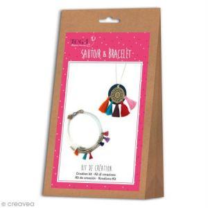 Toga Kit de création de bijoux - Sautoir et bracelet Bohème