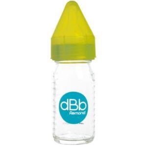 dBb Remond Biberon Régul'air en verre 110 ml avec tétine nouveau-né en silicone