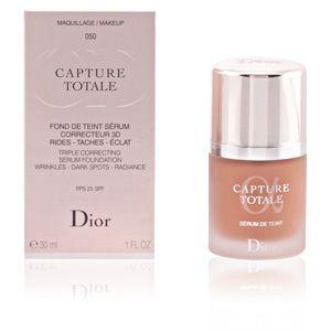 Dior Capture Totale 050 Beige Foncé - Fond de teint sérum correcteur 3D rides - taches - éclat
