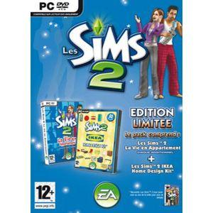 Les Sims 2 : La Vie en Appartement + Les Sims 2 : Ikea Home Design Kit - Pack d'extensions du jeu [PC]