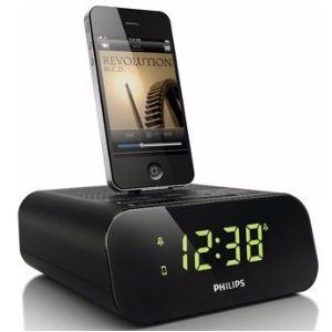 Philips AJ3270D/12 - Radio réveil avec station d'accueil pour iPod/iPhone