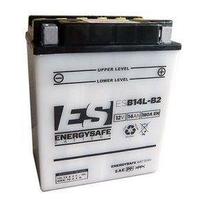 EnergySafe Batterie YB14L-B2 avec acide